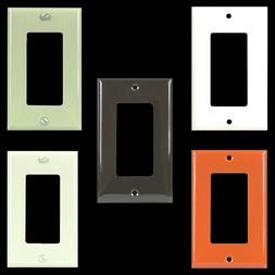 1 Gang Receptacle Outlet Cover Decorator Wall Plate GFCI Glo