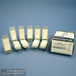 10 Pass & Seymour Light Almond Decorator Rocker Wall Light S