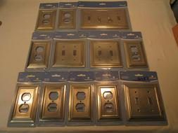 11 PCS BRAINERD ARCHITECTURAL BRUSHED SATIN NICKEL OUTLET &