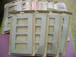 12 X Lutron Claro 4 Gang Wall Switch Face Plate CW-4-GR New