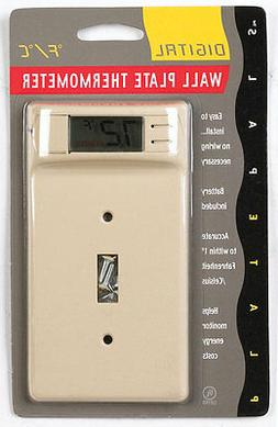 Plate Pals 12200 Digitial Thermostat Wall Switch Plate, 1-Ga