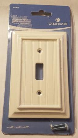 Brainerd 126358 Beadboard Single Toggle Switch Wall Plate /