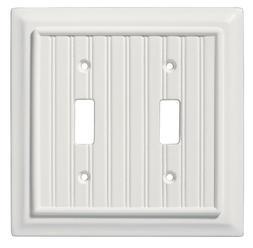 Liberty Hardware 126359 Toggle Switch Beadboard Wall Plate S