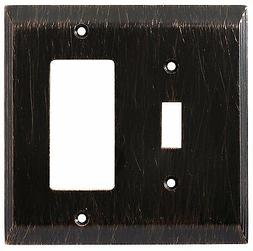 126392 Venetian Bronze Stately Switch / GFCI Cover Wall Plat