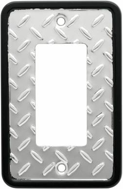 Franklin Brass 135860 Diamond Plate Single Decorator Wall Pl