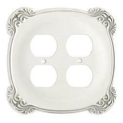 Franklin Brass 144396 Arboresque Double Duplex Wall Plate /