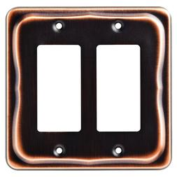 Franklin Brass 144407 Tenley Double Decorator Wall Plate / S