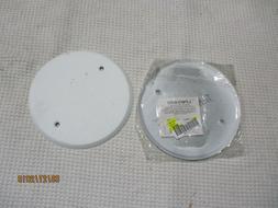2 only TayMac LPB3400 Flat Blank 5-Inch Round Standard Metal
