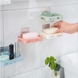2019 Bathroom Shower Soap Box Dish Storage <font><b>Plate</b