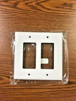 Cooper Wiring Devices 2052W 2-gang mid-sized wall plate