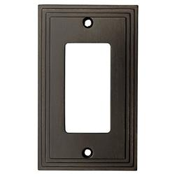 Cosmas 25000-ORB Oil Rubbed Bronze Single GFI / Decora Rocke