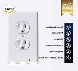 - Outlet wall plate with Led night light – Guidelight - C