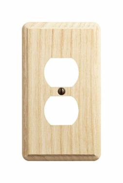 Amerelle 401D Contemporary 1 Duplex Outlet Wall Plate