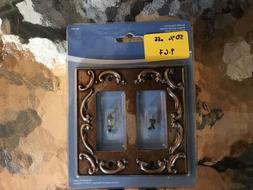 405504 Brainerd French Lace 2-Gang Sponged Copper Double Dec