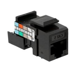 Leviton 41108-RB5 Cat 5 Category 5 QuickPort Connector, Brow
