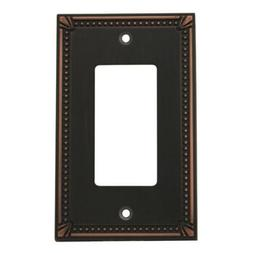Cosmas 44000-ORB Oil Rubbed Bronze Single GFI / Decora Rocke