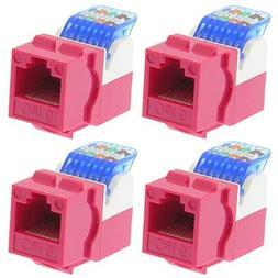 4x cat6 tool less network lan snap