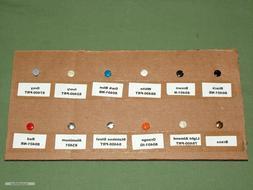 "Leviton 5/16"" Wall Plate Screws - 20pcs - Rare Colors Availa"