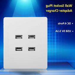 5V 3.1A DC 4 Ports USB Electric <font><b>Wall</b></font> Cha