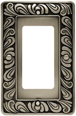 Franklin Brass 64046 Paisley Single Decorator Wall Plate / S