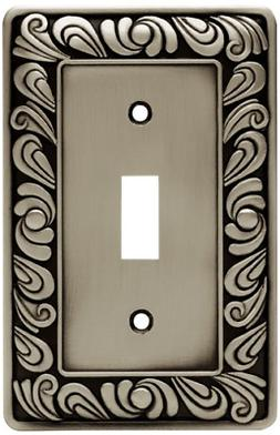 Franklin Brass 64048 Paisley Single Toggle Switch Wall Plate