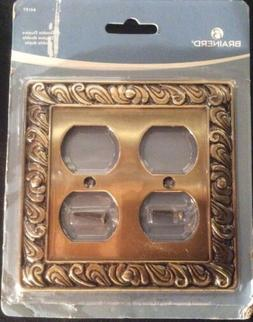 Franklin Brass 64197 Paisley Double Duplex Outlet Wall Plate