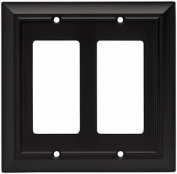 Brainerd 64211 Architectural Double Decorator Wall Plate, Fl