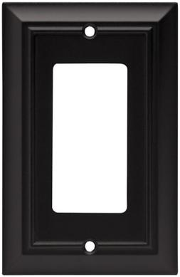 Brainerd 64216 Architectural Single Decorator Wall Plate / S