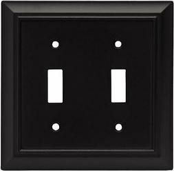 Brainerd 64217 Architectural Double Toggle Switch Wall Plate
