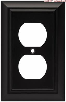 Brainerd 64218 Architectural Single Duplex Outlet Wall Plate