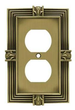 64472 Pineapple Single Duplex Outlet Wall Plate/Switch Plate