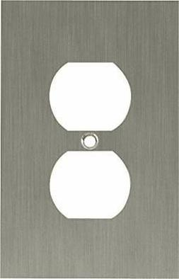 Franklin Brass 64930 Concave Single Duplex Outlet Wall Plate