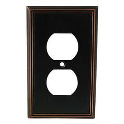 Cosmas 65049-ORB Oil Rubbed Bronze Single Duplex Electrical