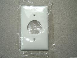 Home Improvement Leviton 001-88004 Single Gang White Single Receptacle Wallplate At All Costs