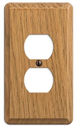 Amerelle Wall Plates Medium Oak Wallplate
