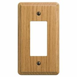 Amerelle 901RL Contemporary 1 Rocker-GFCI Wall Plate