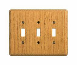 Amerelle 901TTTL Contemporary Wall Plate, 3 Toggle