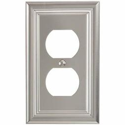 Amerelle 94DN Continental Cast Metal Wallplate with 1 Duplex