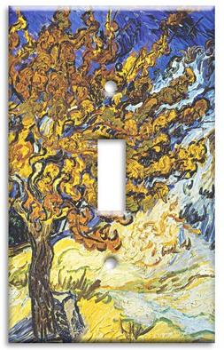 Art Plates - Van Gogh: Mulberry Tree Switch Plate - Single T