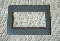 Leviton Acenti ACWP3-00-SLT ACWP3-SLT slate 3 gang wall plat