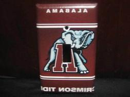Alabama Crimson Tide Light Switch Wall Plate Cover #1 - Vari