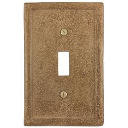 Amerrelle 8351TNC 1 Tumbled Stone Switch Plate