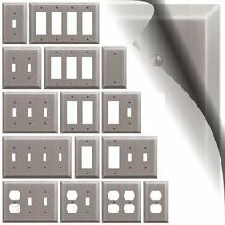 Antique Nickel Switch Plate - Duplex Toggle Decora GFI Centu
