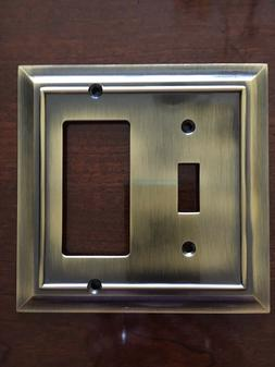 BRAINERD ARCHITECTURAL SINGLE TOGGLE SWITCH DECORATOR PLATE