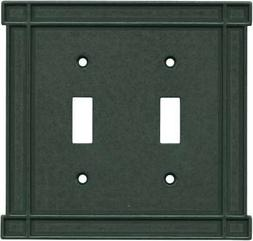 Brainerd Arts n Crafts Soft Iron  Wall Plates & Outlet Cover