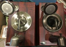 Bathtub faucets, Showerheads, Valves, Accessories. Moen, Ame