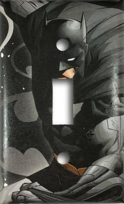 Batman Super Hero Gotham Decorative Single Toggle Light Swit