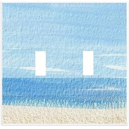 Beach Wallplate Switch Plate Cover