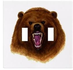 Bear Head Wallplate Wall Plate Decorative Light Switch Plate