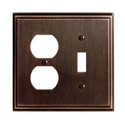 Amerock BP36530ORB Allison 3 Toggle Wall Plate - Oil-Rubbed